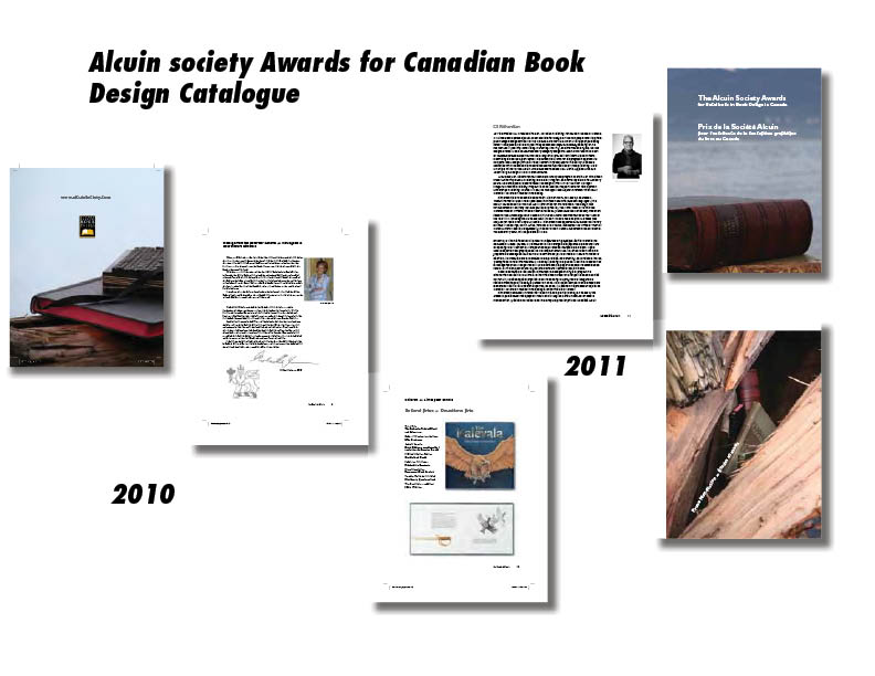 Alcuin Society Canadian Book Design Awards