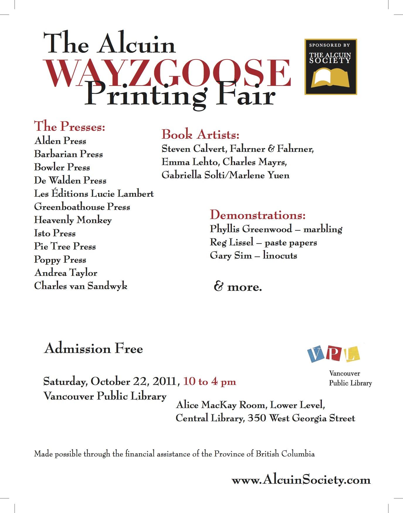 wayzgoose-poster