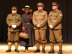 ww1-outfit-with-trench-guys-during-fashion-show